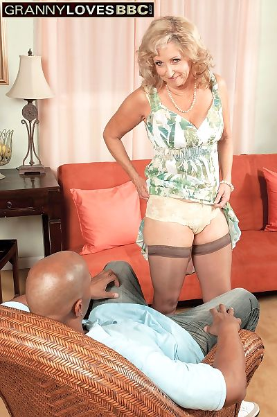 Horny old woman Connie McCoy..