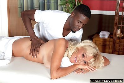 Brittney Snow likes to get..