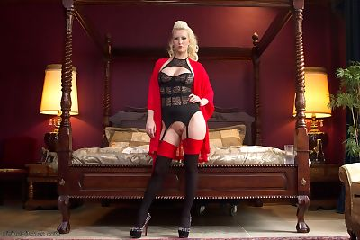 Blonde mistress Cherry Torn..