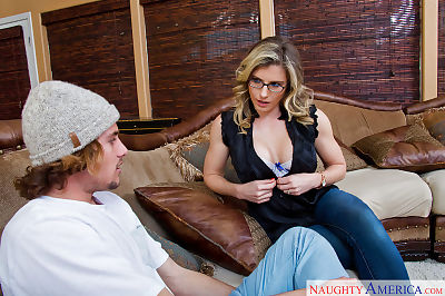 Mom in glasses Cory Chase..