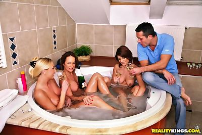 Three hot MILFs are into..
