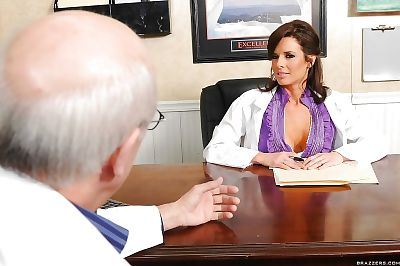 Hot MILF doctor with big..